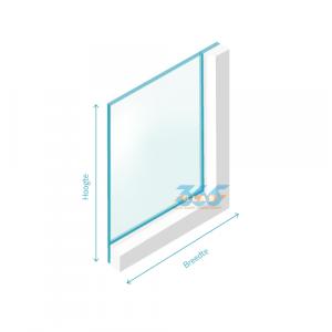 Enkel glas (float) Blank 6mm