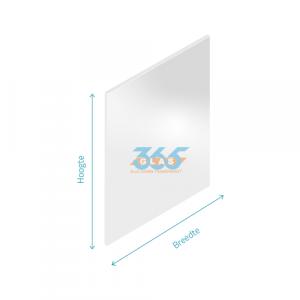 Spiegelglas blank 4mm